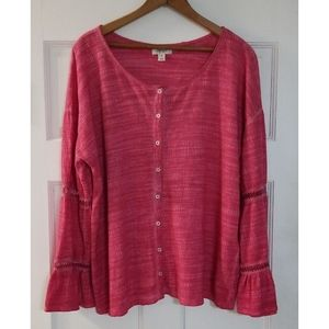 Style & Co Oversized Top